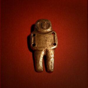 Baltiški papuošalai. Žalvarinis kabutis - Neolito amuletas I.