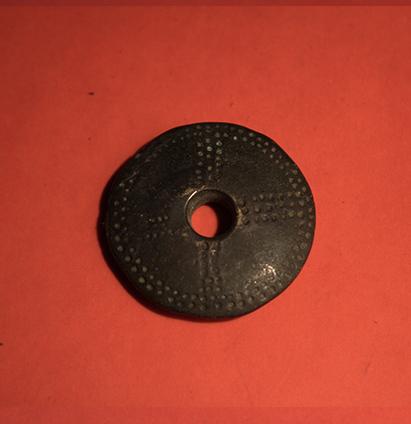 Baltiški papuošalai. Žalvarinis kabutis - Neolito amuletas III.
