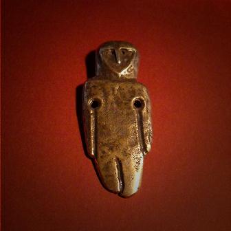 Baltiški papuošalai. Žalvarinis kabutis - Neolito amuletas II.