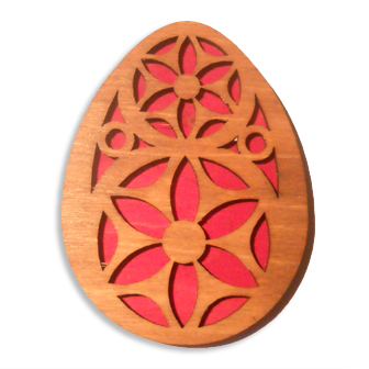 Tautinis magnetukas - Velykinis kiaušinis I