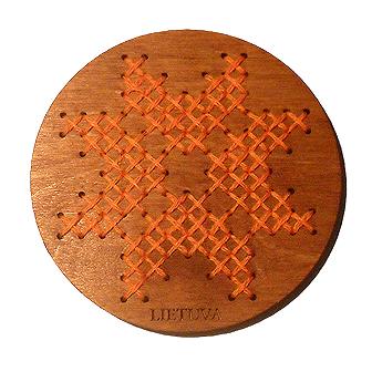 Tautinis magnetukas - Saulė su žvaigždutėmis II