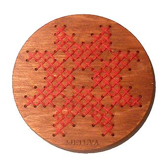 Tautinis magnetukas - Saulė su žvaigždutėmis I