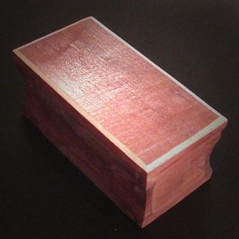 Medinė rankų darbo dėžutė I, 6x12cm