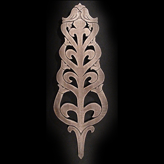 Medinė rankų darbo drožinėta verpstė VII, 38cm