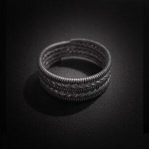 Baltiški papuošalai. Sidabrinis žiedas II.