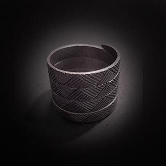 Baltiški papuošalai. Sidabrinis žiedas XVI.