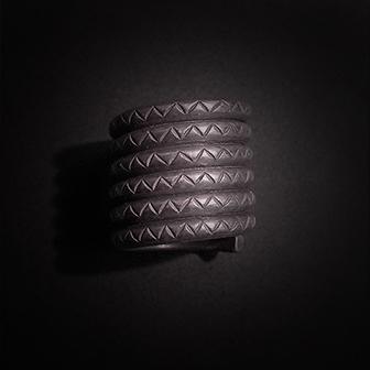 Baltiški papuošalai. Sidabrinis žiedas XII.